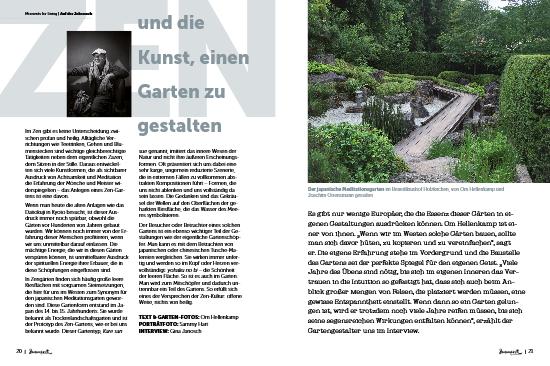 moment by moment 02/2017: Selbstmitgefühl - Artikelvorschau Zengarten