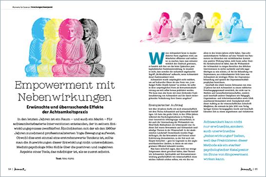 moment by moment 03/2017: Mindful Business - Aritkelvorschau Niko Kohls Empowerment