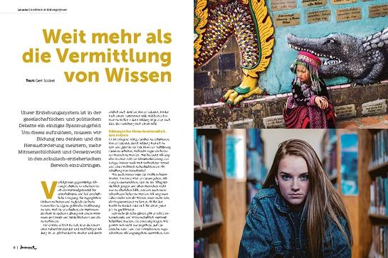 moment by moment 01/2019 Aufbruch im Bildungssystem: Vorschau der Kolumne von Gert Scobel
