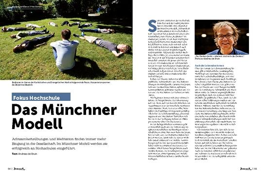 moment by moment01/2019: Aufbruch im Bildungssystem - Aritkelvorschau Andreas De Bruin über das Münchner Modell