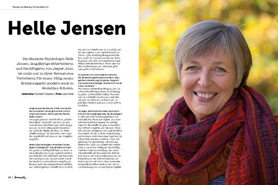 moment by moment 01/2019: Aufbruch im Bildungssystem - Interview mit Helle Jensen