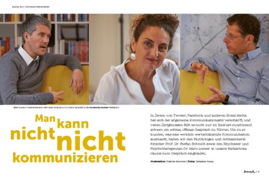 Marc Loewer und Stefan Schmidt im moment by moment 2/2019 Interview-Special