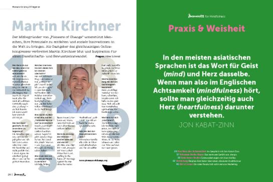 moment by moment 2/2019 Interview-Special - 9 Fragen an Martin Kirchner