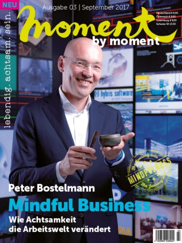 moment by moment 03/2017 Mindful Business Cover