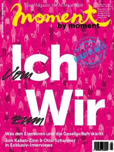 moment by moment 04/2018: Vom Ich zum Wir - Cover