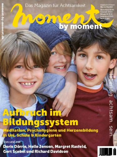 moment by moment 02/2019: aufbruch im Bildungssystem Cover