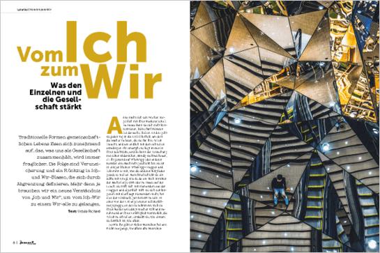 moment by moment 04/2018: Vom Ich zum Wir - Artikelvorschau Ursula Richard