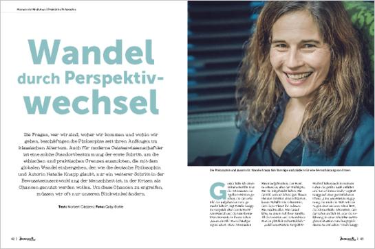 moment by moment 04/2018: Vom Ich zum Wir - Artikelvorschau Nathalie Knapp