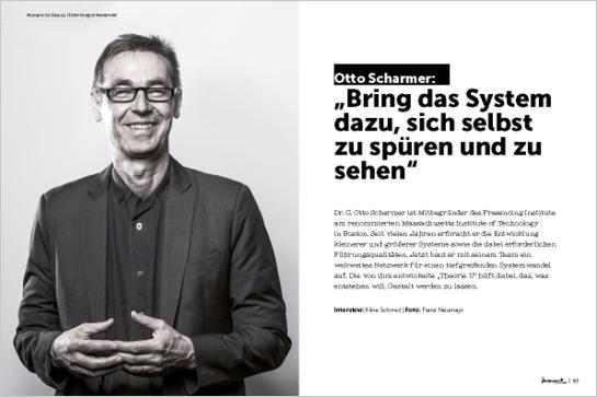 moment by moment 04/2018: Vom Ich zum Wir - Vorschau des Interviews mit Otto Scharmer