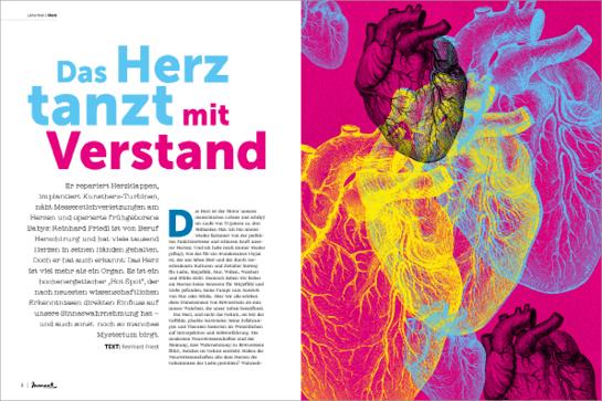moment by moment 01/2018 - Artikel Reinhard Friedl: Das Herz tanzt mit dem Verstand
