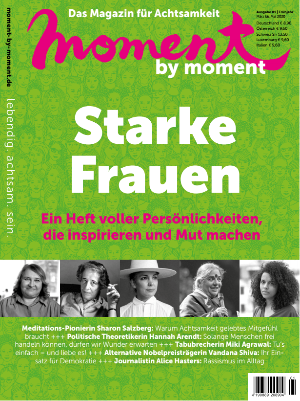 moment by moment 01/2020: Starke Frauen Cover