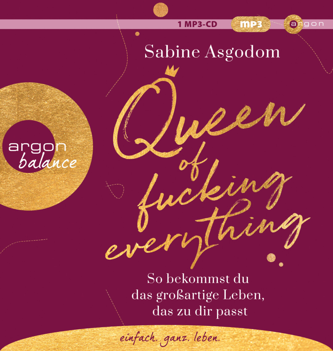 Hörbuch Cover Sabine Asgodom Queen of fucking everything