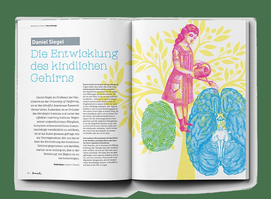 moment by moment 01/2020 Starke Frauen Interview Dan Siegel über die Entwicklung des kindlichen Gehirns