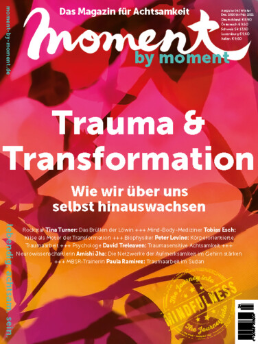 moment by moment 04/2020: Trauma und Transformation - Cover