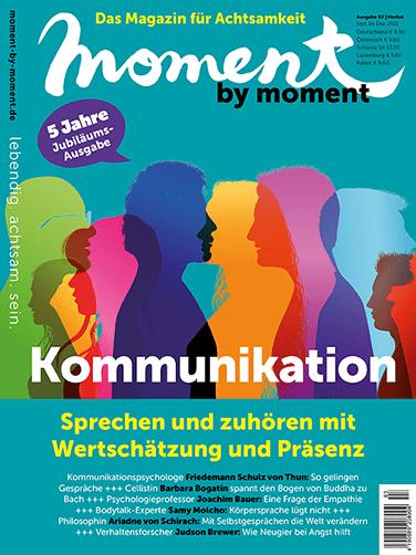 Cover Herbst-Ausgabe Kommunikation