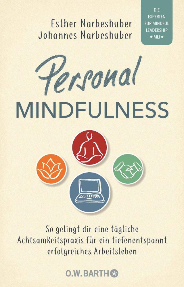 Cover des Buches Personal Mindfulness von Esther und Johannes Narbeshuber