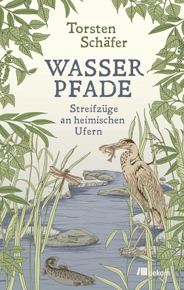 Cover des Buches Wasserpfade von Torsten Schäfer