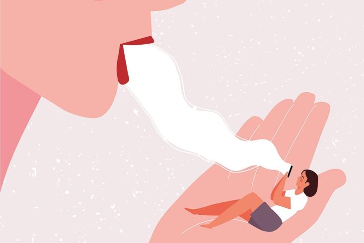 Illustration zum Thema Kommunikation. Link führt zur Leseprobe Impfungen gegen die Infodemie