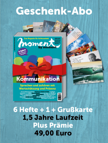 moment by moment Geschenkabo