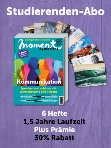 moment by moment Studierenden-Abo